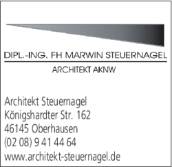 Architekt Oberhausen architekt steuernagel in oberhausen sterkrade nord im das