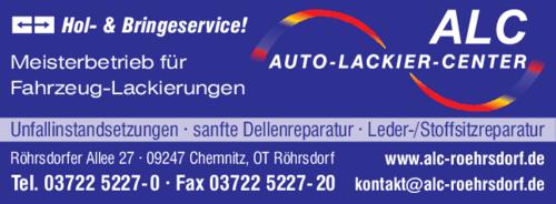 09247 Chemnitz Ot Röhrsdorf auto lackier center alc in chemnitz röhrsdorf im das telefonbuch