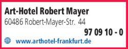 Anzeige Art-Hotel Robert Mayer