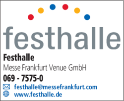 festhalle messe frankfurt venue gmbh in frankfurt westend s d im das telefonbuch finden tel. Black Bedroom Furniture Sets. Home Design Ideas