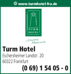 Anzeige Turm Hotel
