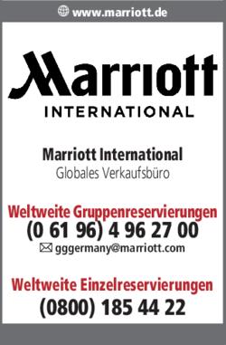 Anzeige Marriott International