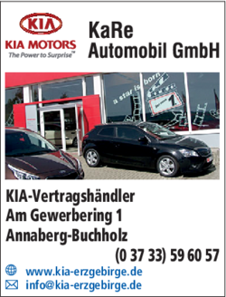 Kia Kare Automobil Gmbh In Annaberg Buchholz Annaberg Das Telefonbuch