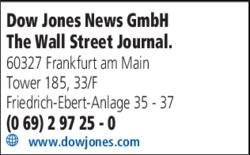 Anzeige Dow Jones International GmbH