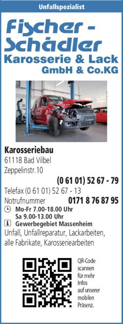 Anzeige Karosseriebau Fischer-Schädler