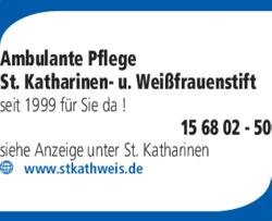 Anzeige Ambulante Pflege St. Katharinen- u. Weißfrauenstift