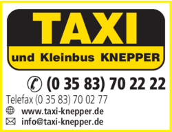 taxi knepper taxi in zittau das telefonbuch. Black Bedroom Furniture Sets. Home Design Ideas