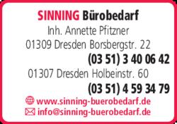 Sinning Bürobedarf In Dresden Striesen Süd Das Telefonbuch