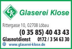 Klose Fenster glaserei klose in löbau im das telefonbuch finden tel 03585