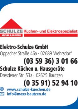 Schulze Gmbh Kuchen Elektro In Sohland Wehrsdorf Im Das