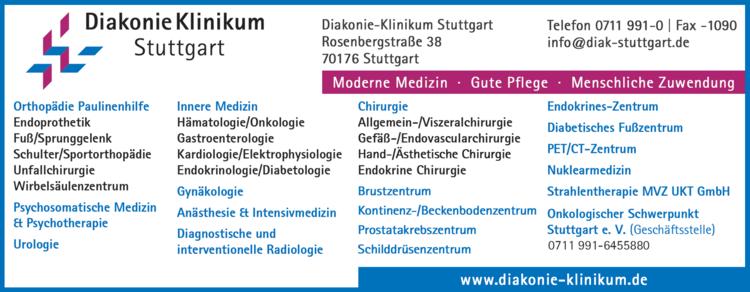 diakonie klinikum stuttgart
