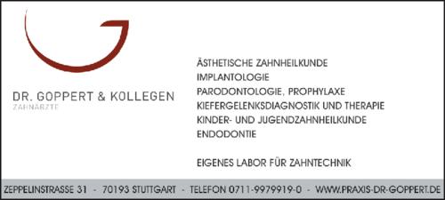 Anzeige Dr. Goppert & Kollegen Praxis für Zahnheilkunde