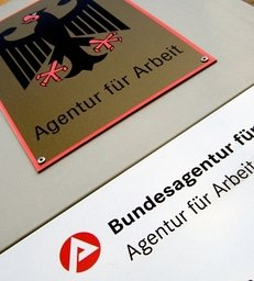 Agentur für Arbeit, Arbeitsamt, Logo des Arbeitsamts