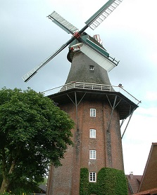 Windmühle Aurich, Sehenswürdikeiten Aurich