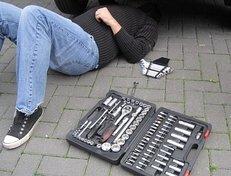 Steckschlüssel, Schraubenschlüssel, Reparatur, Auto, Mechaniker