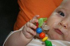 Baby, Schmuller, Sauger, Schnullerkette, Babyausstattung