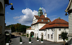 Sehenswürdigkeiten Bad Nauheim, Sprudelhof Bad Nauheim