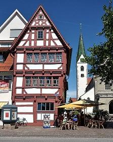 Bad Saulgau Sehenswürdigkeiten, Marktplatz Bad Saulgau