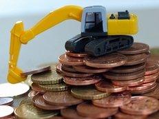 Bagger, Geld, Maschinen