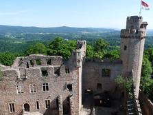 Auerbach, Bensheim, Burg, Auerberg, Hessen, Ruine