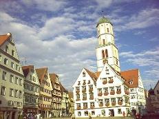 Rathaus, Marktplatz, Biberach