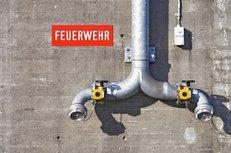 Wasserleitung, Feuerwehr, Brandschutz