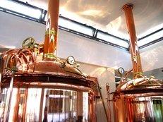 Brauerei, Brauen, Braukessel, Bier