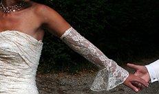 Braut, Hochzeitskleid, Trauung