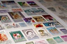 Briefmarken, Sammlung, Archiv