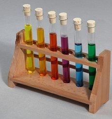 Reagenzgläser, Labor, Chemie, Experiment, bunt, Lauge, Säure