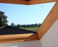 Dach, Dachfenster, Fenster, Aussicht