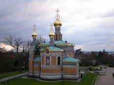 Kirche, Russisch-orthodox, Zwiebeltürmchen