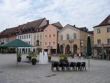 Deggendorf, Fassade, Häuser, Bayern
