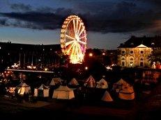 Riesenrad, Dresden, Unterhaltung