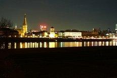 Düsseldorf, Abend, Stadt