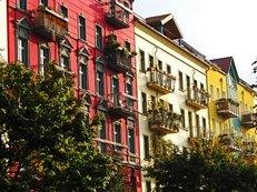 Fassade, Balkon, Altbau