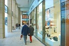 Einkaufszentrum, Einkaufsbummel, Schaufenster