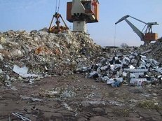 Schrott Entsorgung, Recycling