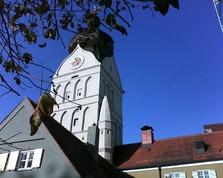 schöner Turm, Erding, Spätgotik, Landshut, Stadttor