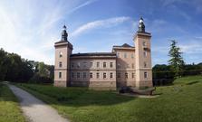 Schloss Gracht, Wasserschloss, Metternich