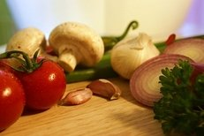 Ernährung, gesunde Kost, Gemüse, Diät