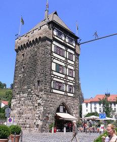 Stadteingang, Esslingen, Fachwerkhaus