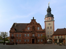Rathaus, Ettlingen, Altstadt, Baden-Württemberg