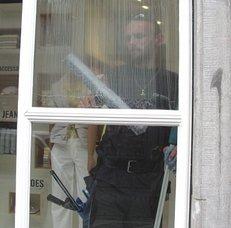 Fensterputzer, Glasreinigung, Scheibenreinigung