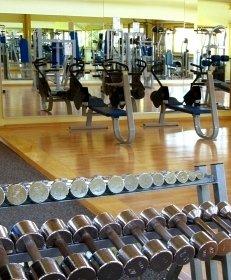 Fitness, Fitnessstudio, Hantel, Training, Übungen