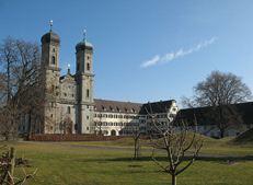 Schlosskirche, Schloss, Friedrichshafen, Benediktinerkloster, Bodensee