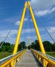 Elster, Hängebrücke, Gera