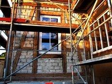Gerüstbau, Baugerüst, Renovierung, Fassade