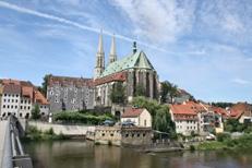 Kirche, Görlitz, Neiße, historische Altstadt, Oberlausitz