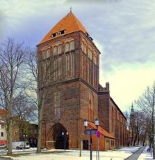 Kirche, St. Jakobi, Greifswald, Backstein